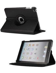 Merkloos 360 graden draaibare hoesje zwart iPad 2 3 en 4