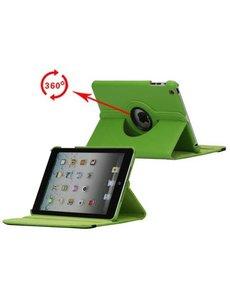 Merkloos 360 graden draaibare hoesje groen iPad 2 3 en 4