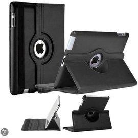 Merkloos iPad 2/3/4 zwarte rotatie cover