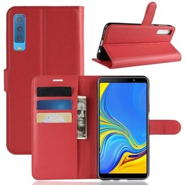 GSM- hoesje Book Case Samsung Galaxy A7 (2018) Hoesje - Rood