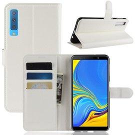 GSM- hoesje Book Case Samsung Galaxy A7 (2018) Hoesje - Wit