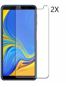 Ntech Ntech 2 Pack Samsung Galaxy A7 (2018) Screenprotector|Tempered glass