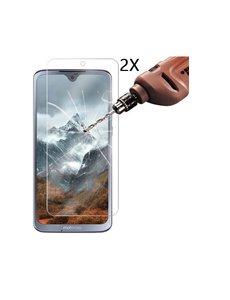 Ntech Ntech 2 Pack Motorola Moto G7/ G7 Plus Screenprotector Tempered glass