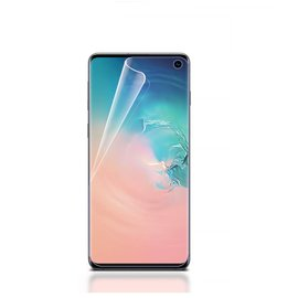 Ntech Ntech Samsung Galaxy S10 Folie Screenprotector Full Screen | Fingerprint Unlocking film Transparant