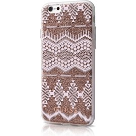 Guess Guess TPU case Tribal - taupe - voor Apple iPhone 6/6S