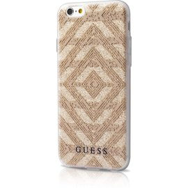 Guess Guess TPU case Aztec - beige - voor Apple iPhone 6;Apple iPhone 6S