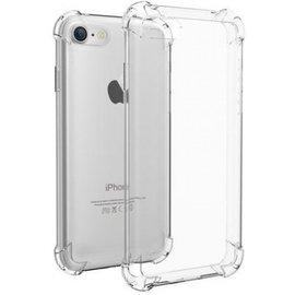 Merkloos iPhone 7/8 Anti shock hoesje + glass screenprotector - combo