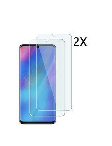 Ntech 2Pack Huawei P30 Lite / P30 Lite New Edition Screenprotector |Tempered glass | Beschermglas