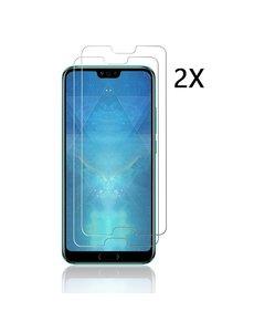 Ntech Ntech 2Pack Huawei Honor 10 - Screenprotector Tempered glass Beschermglas