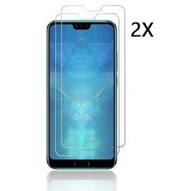 Ntech Ntech 2Pack Huawei Honor 10 - Screen Protector Tempered glass Beschermglas