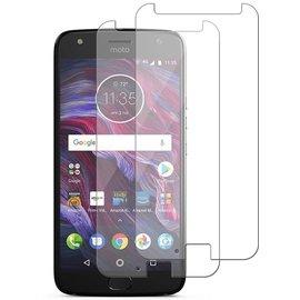Merkloos 2 Pack - Motorola Moto X4 Screen Protector / Glazen Tempered Glass