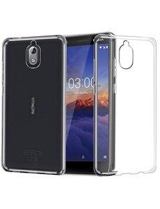 Ntech Ntech Nokia 3.1 Transparant TPU Back hoesje