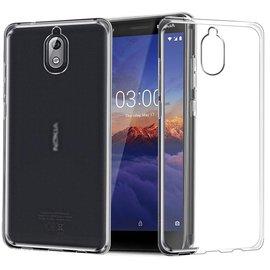 Ntech Ntech Nokia 3.1 Transparant Hoesje Durable Flexible & Scratch Resistent Clear TPU Case