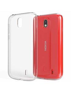Ntech Ntech Nokia 1 Transparant TPU Back hoesje