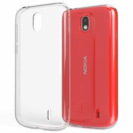 Ntech Ntech Nokia 1 Transparant Hoesje Durable Flexible & Scratch Resistent Clear TPU Case