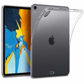 Ntech Ntech Apple iPad Pro 11 Soft TPU Case Transparant Siliconen iPad Hoesje - Back Cover