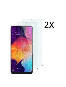 Ntech Ntech 2Pack Samsung Galaxy A50 - Screenprotector Tempered glass