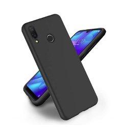 Ntech Ntech Xiaomi Mi Play Hoesje Silicone Hoesje Flexible & Scratch Resistent TPU Case - Zwart