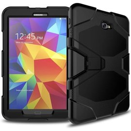 Survivor Tough Shockproof Full Body case hoesje zwart Samsung Galaxy Tab A 10.1 Inch T580 T585
