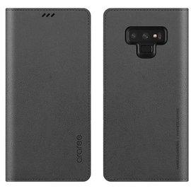 Araree Samsung Galaxy Note 9 Araree Mustang Diary Flip Wallet Case Cover - Grijs