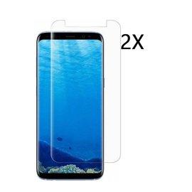 Ntech Ntech 2 Stuks Screenprotector Tempered Glass Glazen Gehard Screen Protector 2.5D 9H (0.3mm) - Samsung Galaxy J4 2018