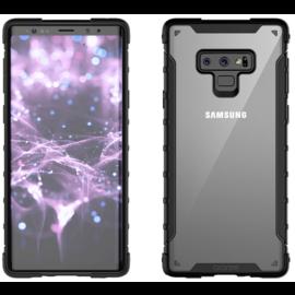 Araree Samsung Galaxy Note 9 Araree Duple Series Anti Shock Back Case Cover - Zwart / Transparant