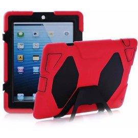 case2go iPad 2,3,4 Extreme Armor Case Rood