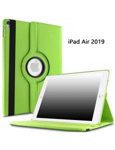 Ntech Ntech Apple iPad Air (2019) 10.5 Draaibare Hoes - Groen