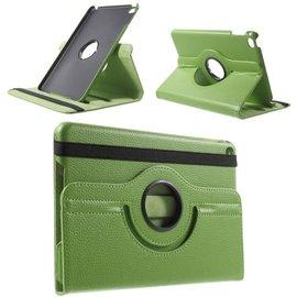 Ntech Ntech Apple iPad Mini 2019 Draaibaar Hoesje 360 Rotating Multi stand Case - Groen