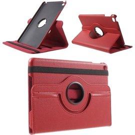 Ntech Ntech Apple iPad Mini 2019 Draaibaar Hoesje 360 Rotating Multi stand Case - Rood