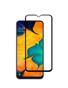 Ntech Ntech Samsung Galaxy A50 full cover Screenprotector Tempered Glass - Zwart