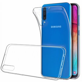 Ntech Ntech Samsung Galaxy A50 Hoesje Durable Flexible & Scratch Resistent Clear TPU Case - Transparant