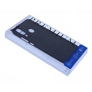 Ntech Ntech Hoesje Silicone Hoesje Flexible & Scratch Resistent TPU Case Samsung Galaxy A30 - Zwart