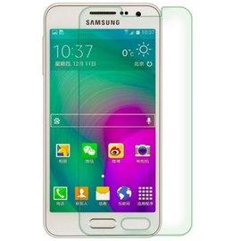 Merkloos 2 Pack - Samsung Galaxy A3 Glazen Screen protector Tempered Glass 2.5D 9H (0.3mm)