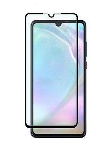 Ntech Ntech Huawei P30 full cover Screenprotector Tempered Glass - Zwart