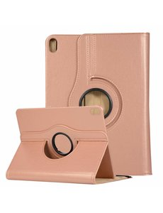 Ntech Ntech Apple iPad Air (2019) 10.5 Draaibare Hoes - Rose goud