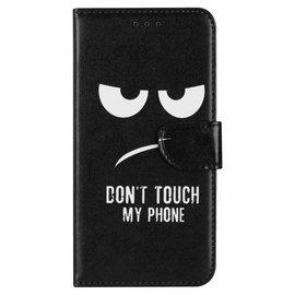 Ntech Ntech Quote & Print Design Portemonnee Hoesje Met Pasjesruimte & Magneet flapje - Samsung Galaxy A30