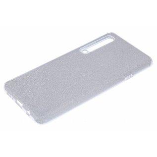 Ntech Ntech Huawei P30 Pro Glitter TPU Back Cover Hoesje - Zilver