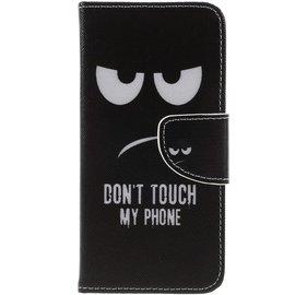GSM- hoesje Book Case Samsung Galaxy J6 (2018) Hoesje - Don't Touch