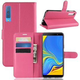 GSM- hoesje Book Case Samsung Galaxy A7 (2018) Hoesje - Roze