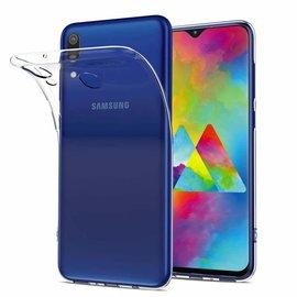 Ntech Ntech Samsung Galaxy M30 Hoesje Durable Flexible & Scratch Resistent Clear TPU Case - Transparant