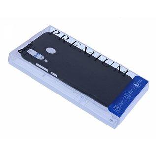 Ntech Ntech Hoesje Silicone Hoesje Flexible & Scratch Resistent TPU Case Samsung Galaxy A40 - Zwart