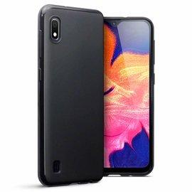 Ntech Ntech Hoesje Silicone Hoesje Flexible & Scratch Resistent TPU Case Samsung Galaxy A10 - Zwart