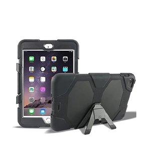Ntech Ntech Apple iPad mini (2019) Hybrid Armor Hoes met standaard & 3 lagen shockproof Case-Zwart