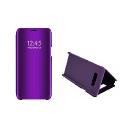 Ntech Ntech New Style LED Flip Cover Hoesje voor Samsung Galaxy A70 - Paars