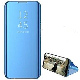 Ntech Ntech New Style LED Flip Cover Hoesje voor Samsung Galaxy A40 - Blauw