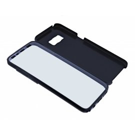 Ntech Ntech Samsung Galaxy S10 360° Protection Hoesje PC & Kunststof - Zwart
