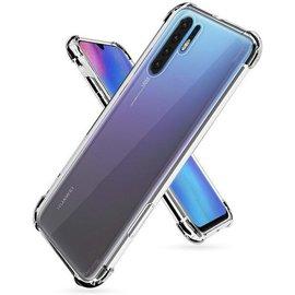 Ntech Ntech Huawei P30 Pro Smokey Anti Burst Hoesje / Shock Proof Crystal Clear TPU Case - Transparent