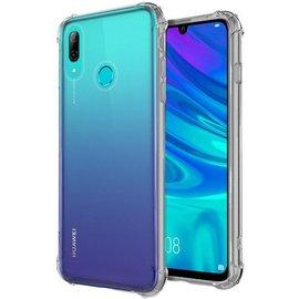 Ntech Ntech Huawei P Smart 2019 Smokey Anti Burst Hoesje / Shock Proof Crystal Clear TPU Case - Transparent