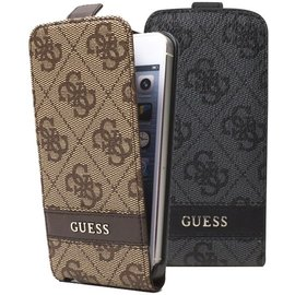 Guess Guess Collection iPhone 5 & 5S Flip Case Brown